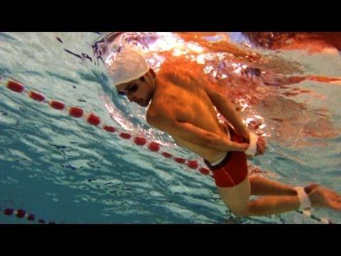 navy seals test underwater ( swimming )
