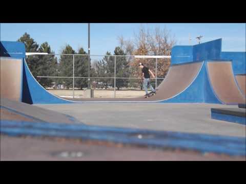 Andrew & Alec skating in Hutchinson, KS
