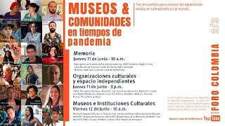 Foro Web: Museos y Comunidades. Museos e Instituciones Culturales