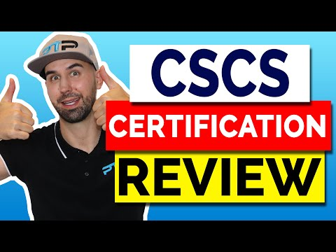 Certified Strength and Conditioning Specialist (CSCS) Certification ...