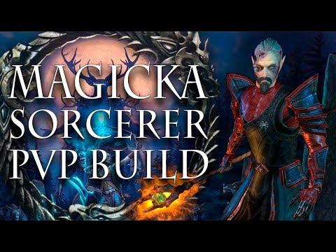 ESO PVP | In Depth Magicka Sorcerer PvP Build | Summerset