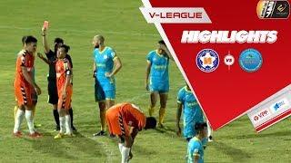 Ghi bàn và nhận thẻ đỏ, Đỗ Merlo giúp SHB Đà Nẵng giành 3 điểm trước Khánh Hòa | VPF Media