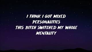 YNW Melly feat. Kanye West - Mixed Personalities (Lyrics)