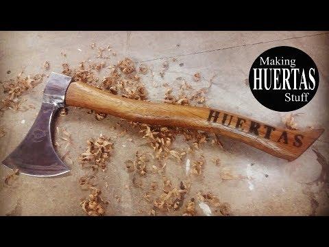 DIY   como restaurar un  hacha