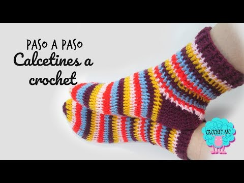 Tutorial Calcetines a crochet