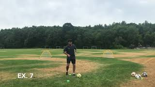 Moving in 1st Touch + Forward Passing---  10 Simple Exercises