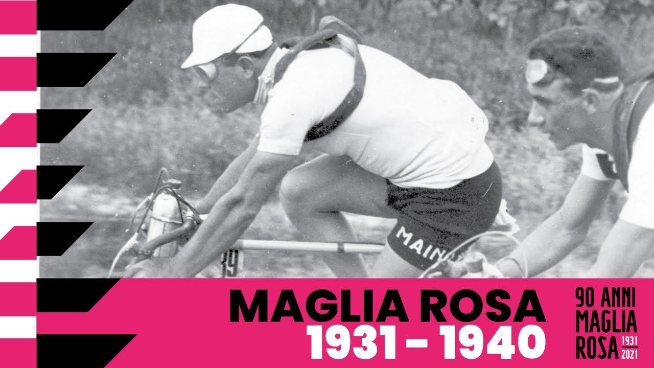 90Anni Maglia Rosa: 1931 – 1940