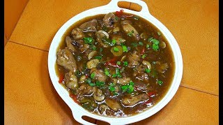 🔵 Chicken Mushroom Oyster Sauce - Pinoy Cooking - Tagalog Videos - Filipino Recipes