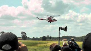 preview picture of video 'PZL W-3A Sokol SAR Helicopter Solo Display at Koksijde Air Show 2011'