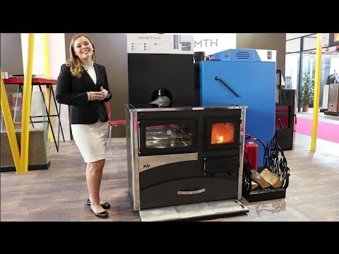 ABC Products - Concept 2 Wood and Coal Cookstove