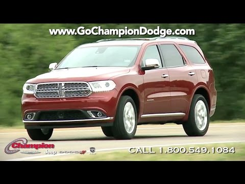 2017 DODGE DURANGO Commercial - Los Angeles, Cerritos, Downey CA - NEW SUV - Specials