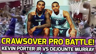 Kevin Porter Jr Battles Dejounte Murray For KING OF SEATTLE At The Crawsover! DUNK SHOW Ending! 🤩