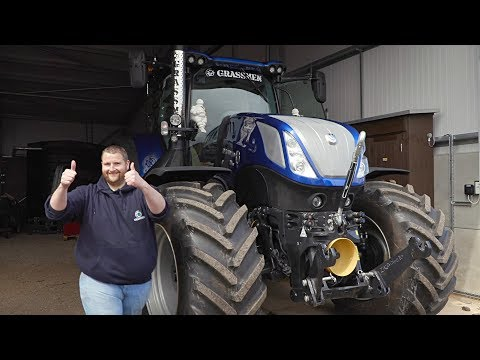 GRASSMEN TV - T7.315HD Dyno at T.H. White Agriculture