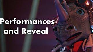 Rhino   Performances and Reveal   Season 3   THE MASKED SINGER