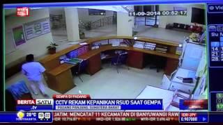 CCTV Rekam Kepanikan Pasien Rumah Sakit Saat Gempa