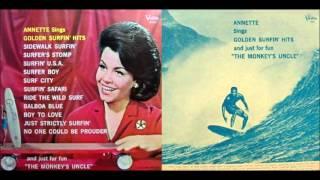 Annette Funicello - Annette Sings Golden Surfin' Hits [Full Album] 1965