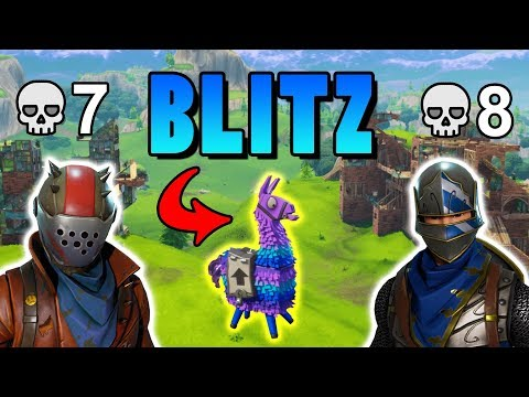 BLITZ MÓD! EZ WIN │Fortnite: Battle Royale