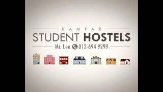 preview picture of video 'Student Hostel Rental Agency Houses for Rent in Kampar Perak Malaysia'