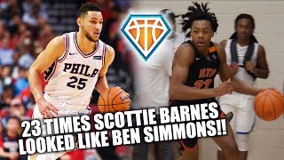 23 TIMES Scottie Barnes Looked Like BEN SIMMONS This Summer!! | 6'8 with CRAZY VISION