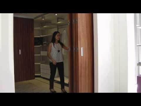 Tauro MD - Sistema oculto para puertas plegables de madera