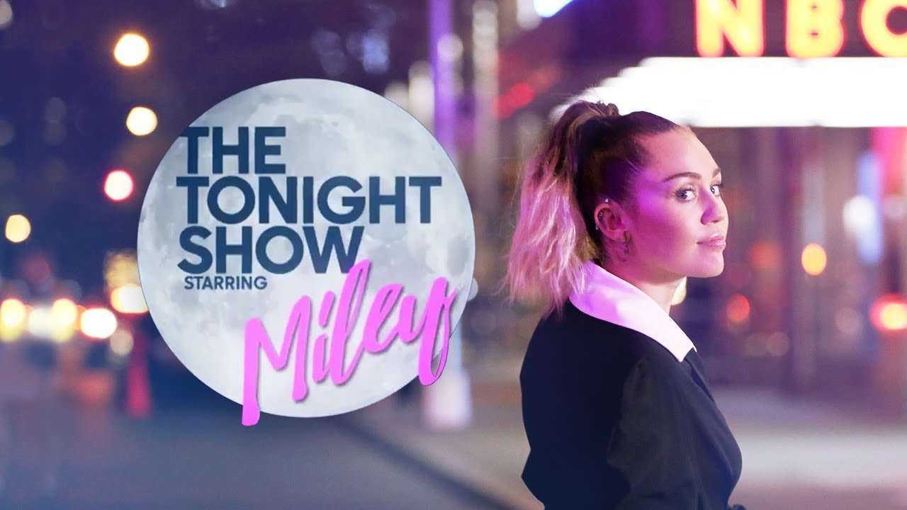 Best of Miley Cyrus on The Tonight Show Starring Jimmy Fallon thumbnail