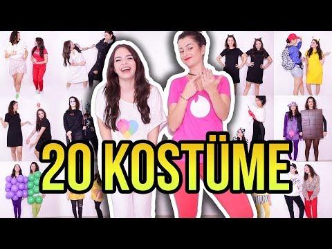 20 Karneval DIY KOSTÜMIDEEN für BESTE FREUNDIN - Costume Ideas for Best Friends - unlikely 💖