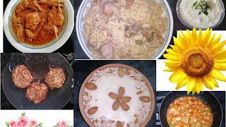 Eid Lunch And Dinner Menu 2020   Eid Special Menu   Life With Shamaila