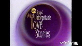 ABC Soaps' Most Unforgettable Love Stories