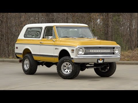 1970 Chevrolet K-5 Blazer FOR SALE / 136419