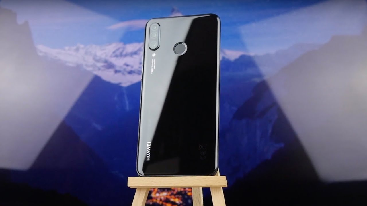 Huawei P30 Lite 2019 4/128Gb Pearl White (51093PUW) video preview