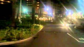 preview picture of video 'Approaching Barbados' Bridgetown Hilton at Night'