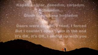 Ece Seçkin - Olsun LYRICS ( Turk And English)