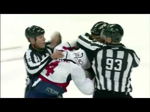 John Erskine vs Shawn Thornton