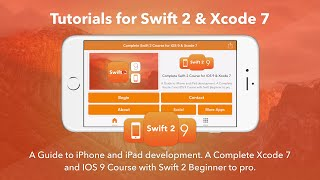 Swift 2 Tutorials For Xcode 7 - iOS App Now Available