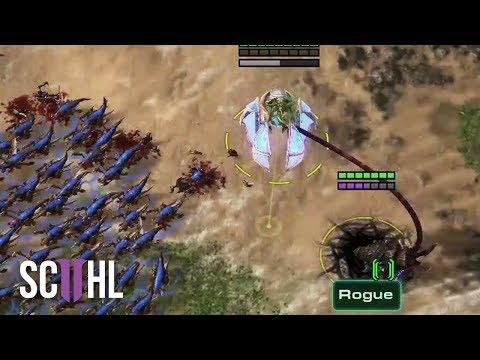 STEALING UNITS! - Starcraft 2: Rogue vs Trap