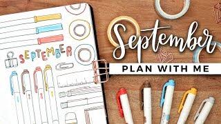 PLAN WITH ME | September 2019 Bullet Journal Setup
