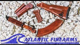 AK47 BakeLite Style Stock Set From Atlantic Firearms