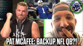 Pat McAfee & Dallas Clark Talk Pat Being The Colts Backup QB