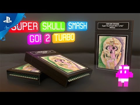Super Skull Smash GO! 2 Turbo – Reveal Trailer | PS4, PSVITA