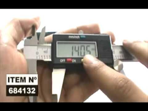 Paquímetro 6 Analógico 150 mm - Video