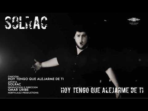 "Solrac-The Black Widow- ""Hoy Tengo Que Alejarme De Ti"" video oficial (pop punk - metal-easycore)"