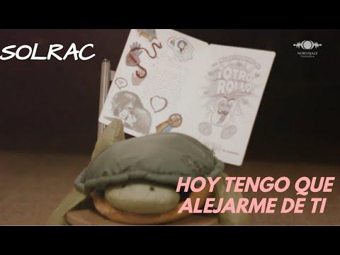 """Solrac-The Black Widow- """"Hoy Tengo Que Alejarme De Ti"""" video oficial (pop punk - metal-easycore)"""