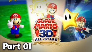 Tropical Vacation Gone Wrong - Super Mario 3D All-Stars (Live)
