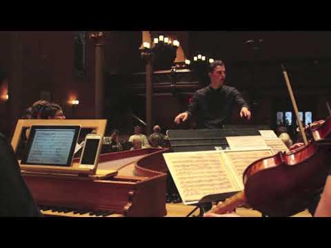 Harvard Early Music Society Elias Miller, Conductor  J.A. Hasse: Sanctus Petrus et Sancta Maria Magdalena  Introduction - Plange, plange