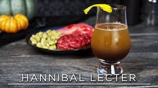 A Nice Chianti: Hannibal Inspired Cocktail • 31 DAYS OF HALLOWEEN