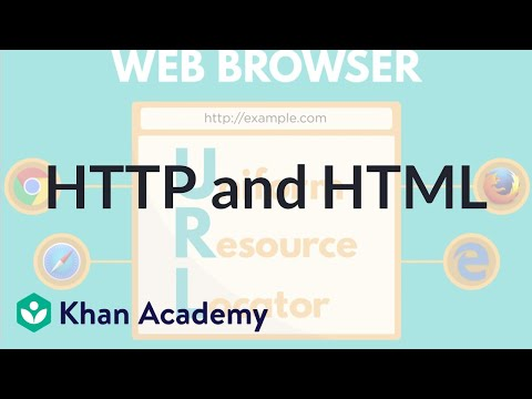 HTTP and HTML (video) | Internet 101 | Khan Academy