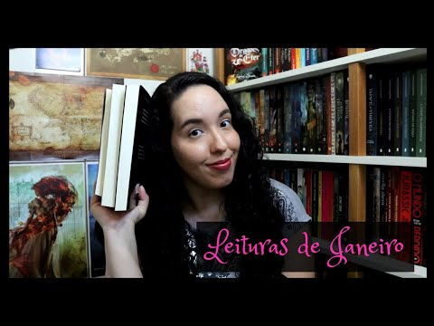 Vlog de Leituras de Janeiro (2021) | Raíssa Baldoni