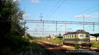 preview picture of video '[CTL] Škoda 182 - 007 - czeski agent Bond spacerkiem po stacji Staszów / LUZAK'