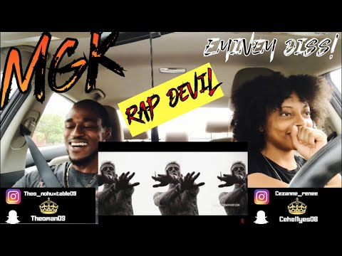 MACHINE GUN KELLY - RAP DEVIL( EMINEM DISS) Th&Ce' Reaction!