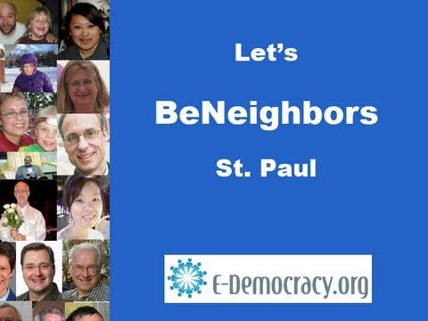 BeNeighbors.org - Meet Your Neighbors Online Twin Cities